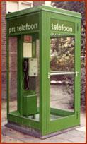 De telefooncel