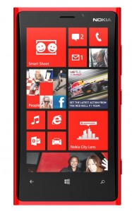 Yes, I grabbed the shot from the Nokia site to hide my own homescreen. ;-)